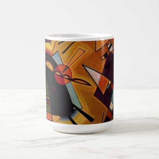 Kandinsky Black and Violet Mug