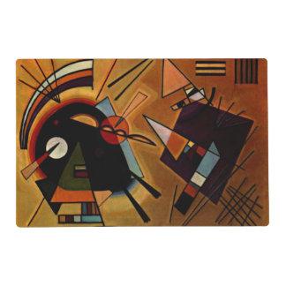 Kandinsky - Black and Violet Placemat