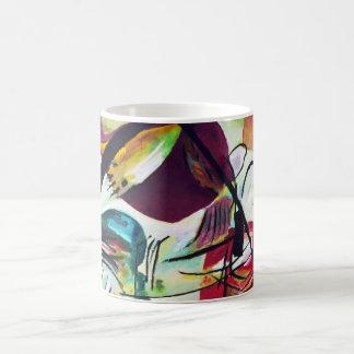 Kandinsky Black Arch Mug