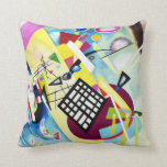 Kandinsky Black Grid Pillow