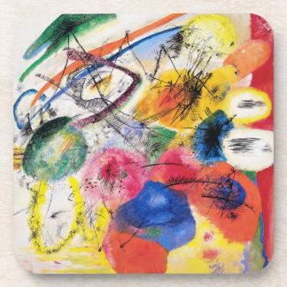 Kandinsky Black Lines Coasters