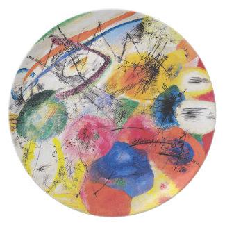 Kandinsky Black Lines Plate