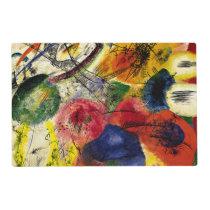Kandinsky - Black Strokes Placemat