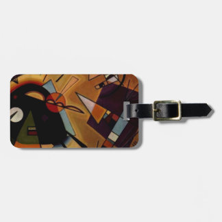 Kandinsky Black Violet Bag Tag