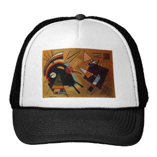 Kandinsky Black Violet Trucker Hat