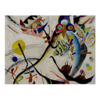 Kandinsky Blue Segment Postcard