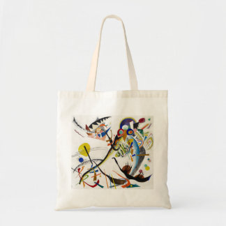 Kandinsky Blue Segment Tote Bag
