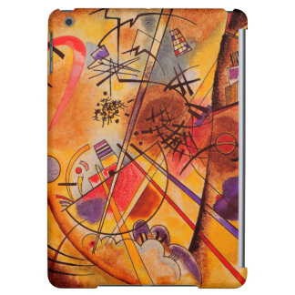 Kandinsky Brown Yellow Red Blue iPad Air Cases