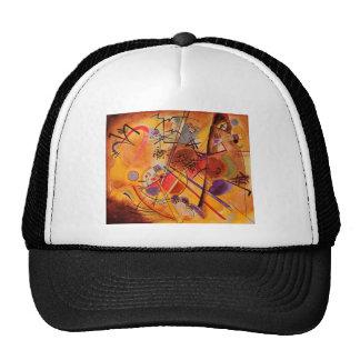 Kandinsky Brown Yellow Red Blue Trucker Hat