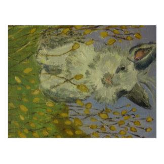 kandinsky bunny postcard