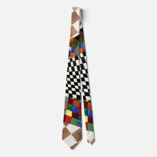 Kandinsky - Checked Neck Tie