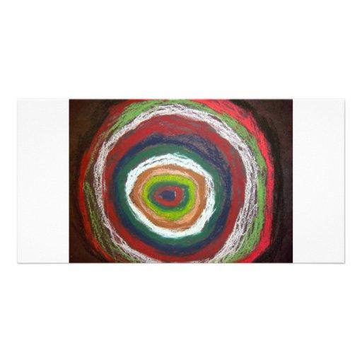 Kandinsky Circles Picture Card