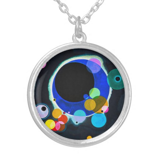 Kandinsky collar de varios círculos