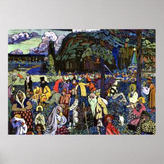 Kandinsky - Colorful Life Poster