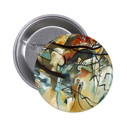 Kandinsky Comp-5 Pin Redondo De 2 Pulgadas