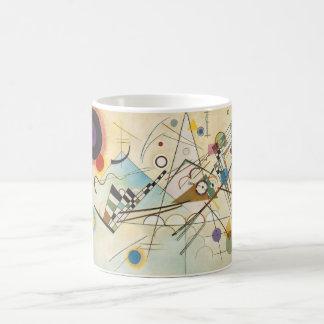 Kandinsky Comp-8 Classic White Coffee Mug