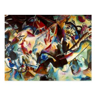 Kandinsky - composición VI Tarjeta Postal