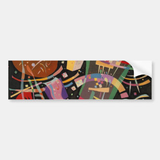 Kandinsky Composition 10 Abstract Painting Bumper Sticker