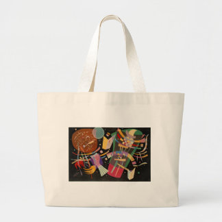 Kandinsky Composition 10 Abstract Painting Large Tote Bag
