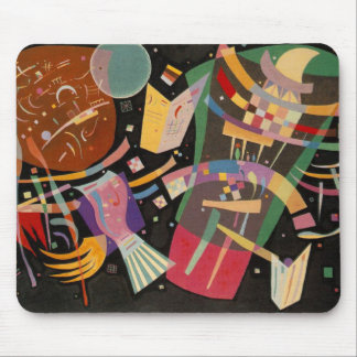 Kandinsky Composition 10 Abstract Painting Mouse Pad