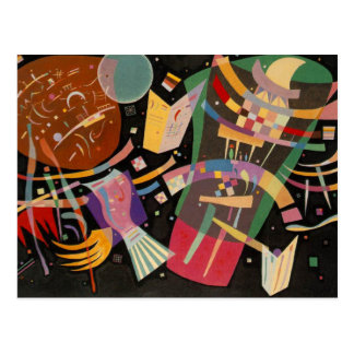 Kandinsky Composition 10 Abstract Painting Postcard