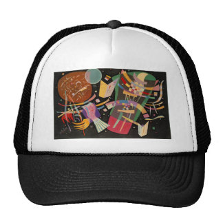 Kandinsky Composition 10 Abstract Painting Trucker Hat