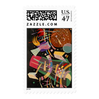 Kandinsky Composition 10 Abstract Postage