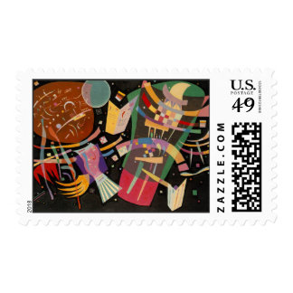 Kandinsky Composition 10 Abstract Stamps