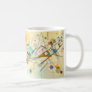Kandinsky Composition 8 Vintage Geometric Art Mug