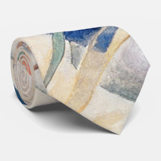 Kandinsky Composition Abstract Artwork Tie