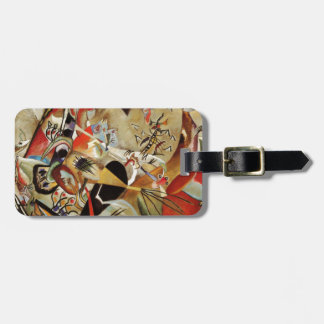 Kandinsky Composition Abstract Bag Tag