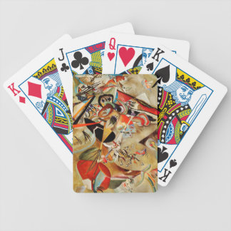 Kandinsky Composition Abstract Bicycle Playing Cards