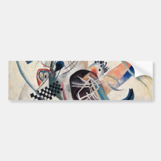Kandinsky Composition Abstract Bumper Sticker