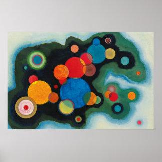 Kandinsky Composition Deeped Impulse Painting Art Poster