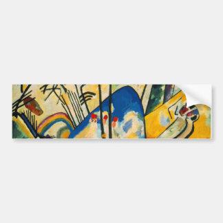 Kandinsky Composition IV Bumper Sticker