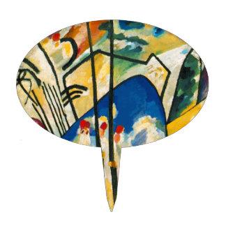 Kandinsky Composition IV Cake Topper