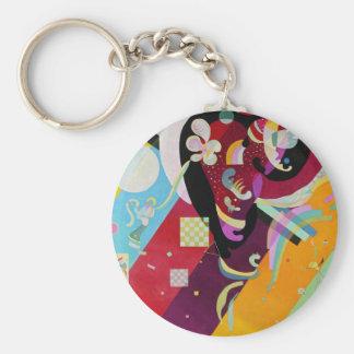 Kandinsky Composition IX Key Chain