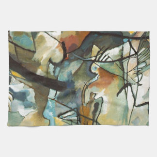 Kandinsky Composition V Abstract Painting Hand Towels