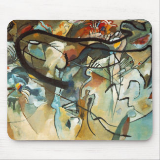 Kandinsky Composition V Abstract Painting Mouse Pad