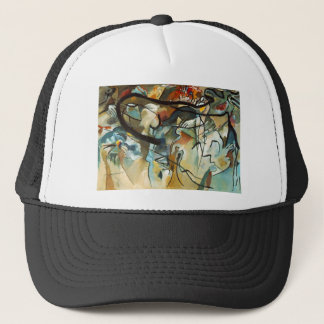 Kandinsky Composition V Abstract Painting Trucker Hat