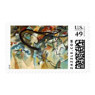 Kandinsky Composition V Painting Postage