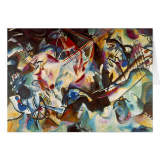 Kandinsky Composition VI Abstract Painting Card