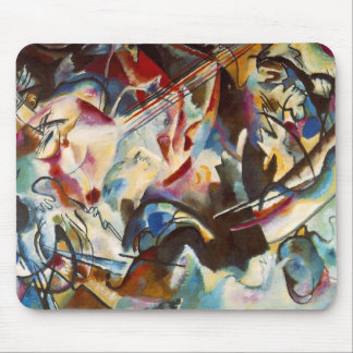 Kandinsky Composition VI Abstract Painting Mouse Pad
