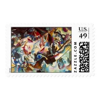 Kandinsky Composition VI Abstract Postage