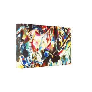 Kandinsky Composition VI Canvas Print