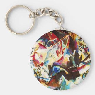 Kandinsky Composition VI Key Chain