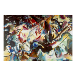 Kandinsky Composition VI Painting Art Poster