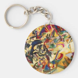 Kandinsky Composition VII Key Chain