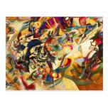 Kandinsky Composition VII Postcard