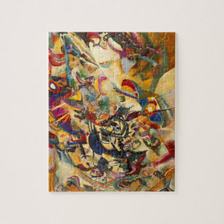 "Kandinsky ""Composition VII"" Puzzle"